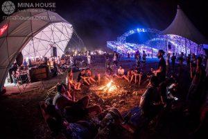 Lều cắm trại lắp ghép – giá trị lớn của tiện ích