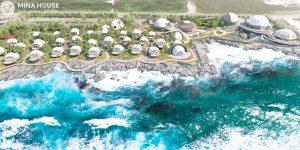 Khu nghỉ dưỡng spa, chữa bệnh làm bằng Lều du lịch lắp ráp