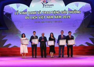 Hàng loạt giải thưởng du lịch Việt Nam 2019 được trao cho Sun Group