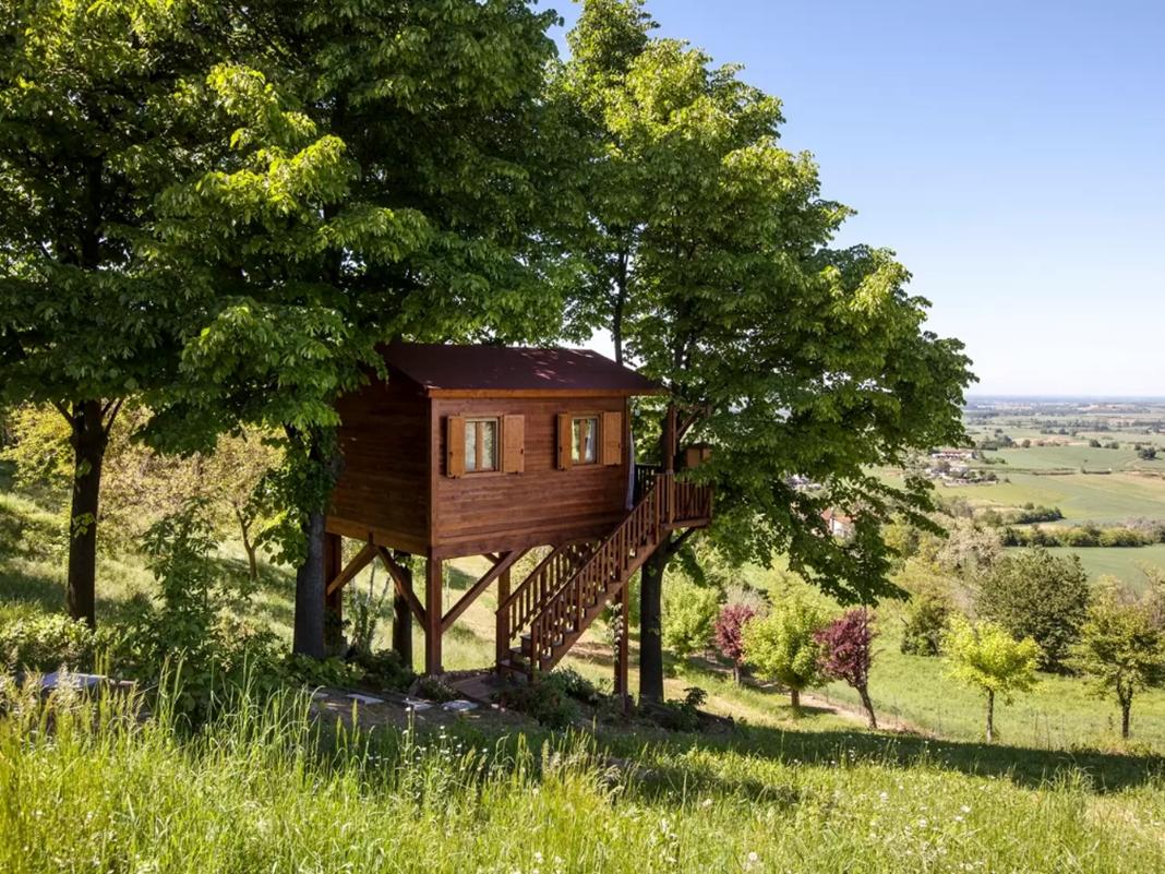 Homestay trên đồi tại Italia