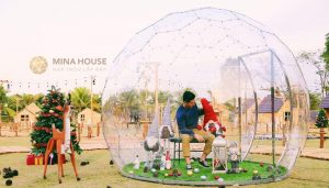 Các loại nhà bong bóng đẹp lạ tại Việt Nam