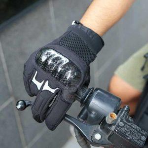 Găng tay Carbon HEVIK California – Bao tay xe máy