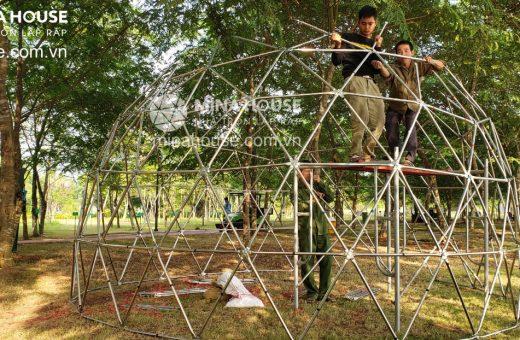Thi công nhà lắp ráp Ecopark Hà Nội
