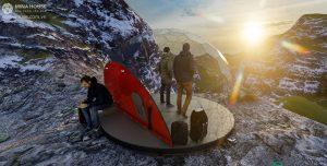 Cho thuê lều Phượt bong bóng – Sự kinh doanh mới lạ