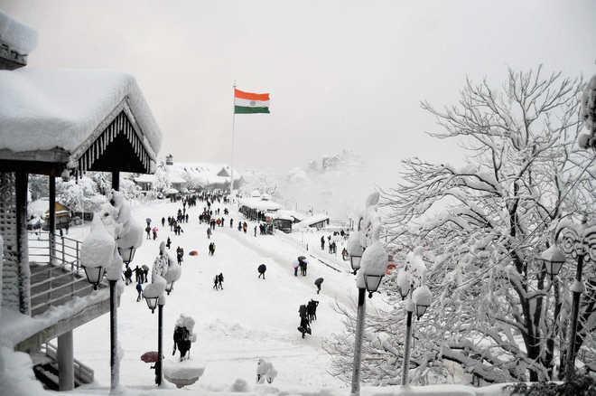 Điểm du lịch ngắm tuyết rơi tại Shimla và Manali tại Ấn Độ