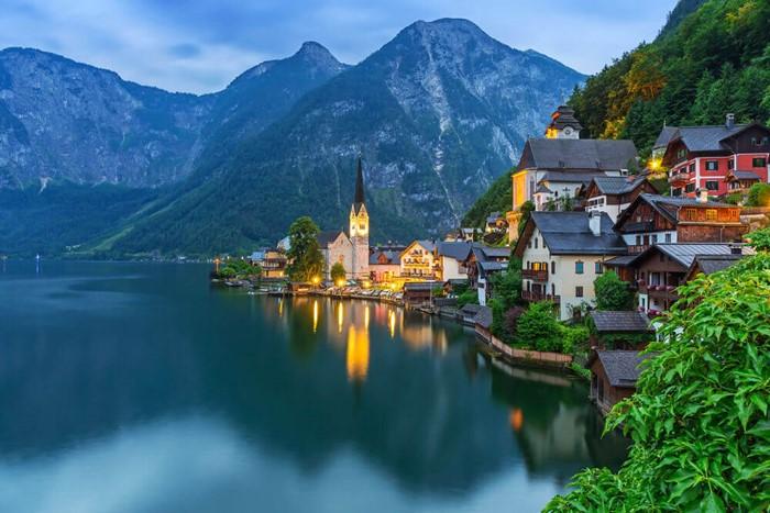 Những ngôi làng đẹp nhất thế giới