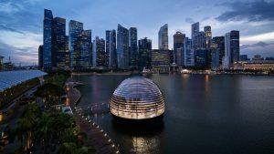 Cửa hàng mới lạ Apple tại Marina Bay Sands Singapore