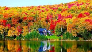 Mùa thu New England tại Mỹ đẹp hút hồn khách du lịch